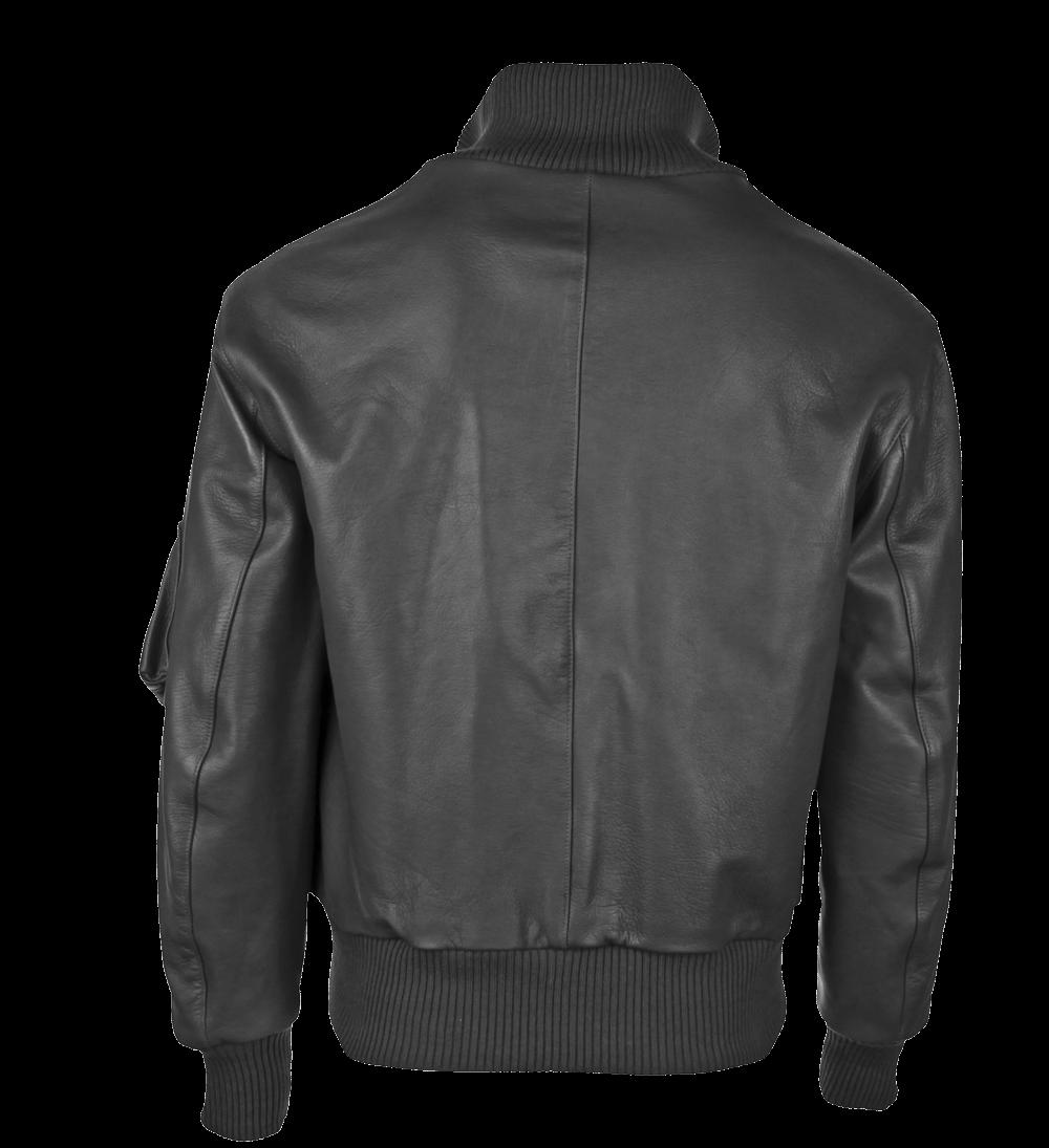 Modeka BW-Pilotenjacke, mit Schubtasche - schwarz