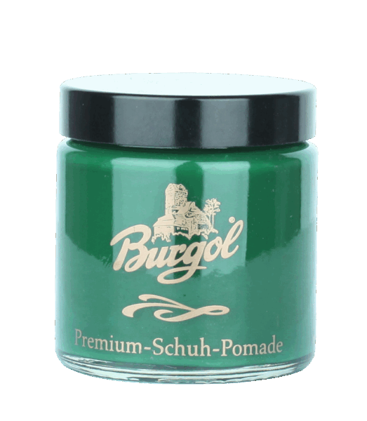 Burgol Premium Schuh Pomade, grün - 49