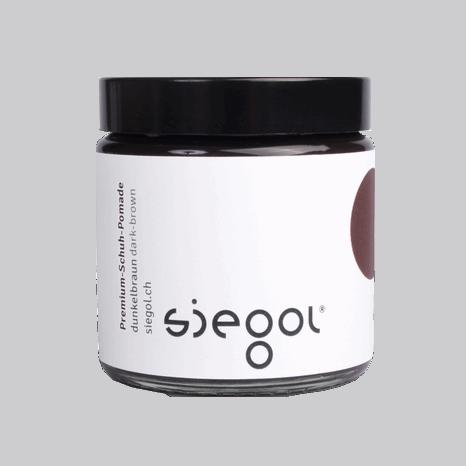Siegol Premium Schuh Pomade, 100ml darkbrown