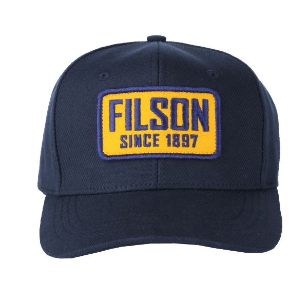 Filson Logger Canvas Cap - Navy