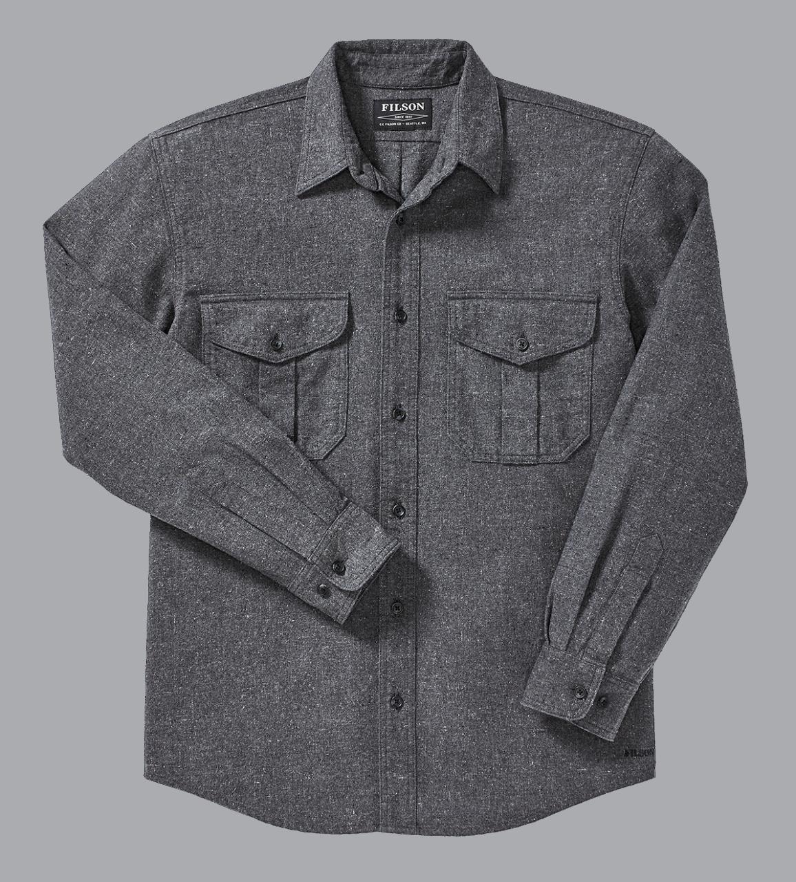 Filson Alaskan Guide Shirt -heather-black