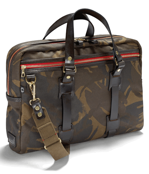 Croots Waxed Camouflage Laptop Bag