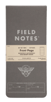 Field Notes Front Page Reporter´s Notebooks