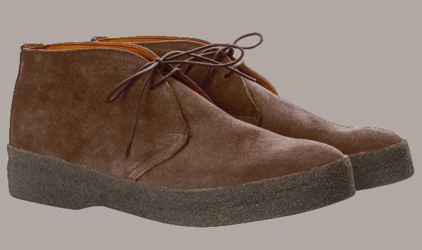 Sanders Chukka Boot - chocolate
