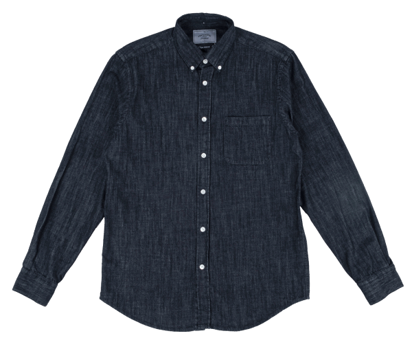 Portuguese Flannel Black Denim