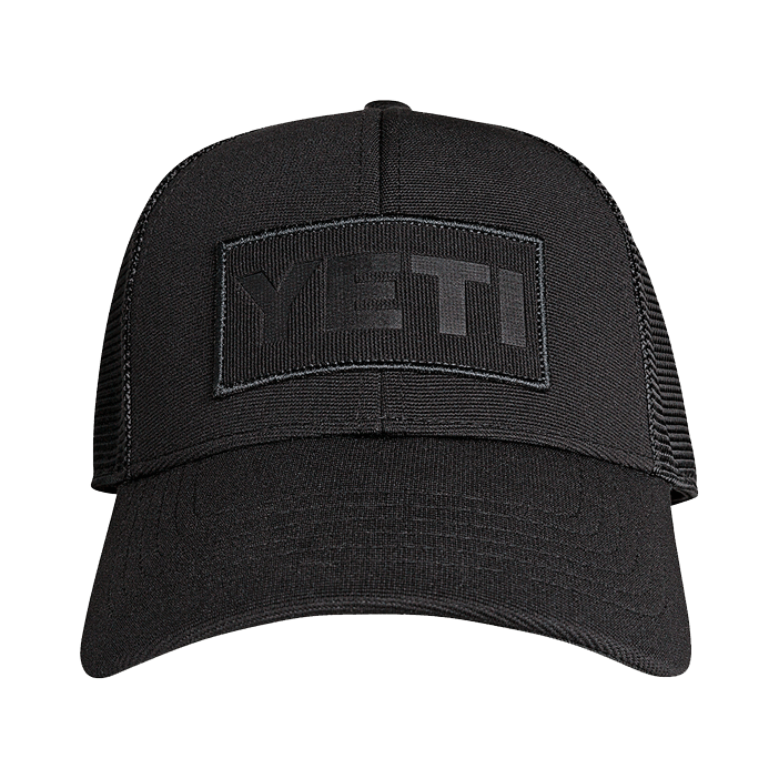 YETI Patch Trucker Hat - black