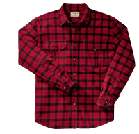 Filson Alaskan Guide Shirt red-black