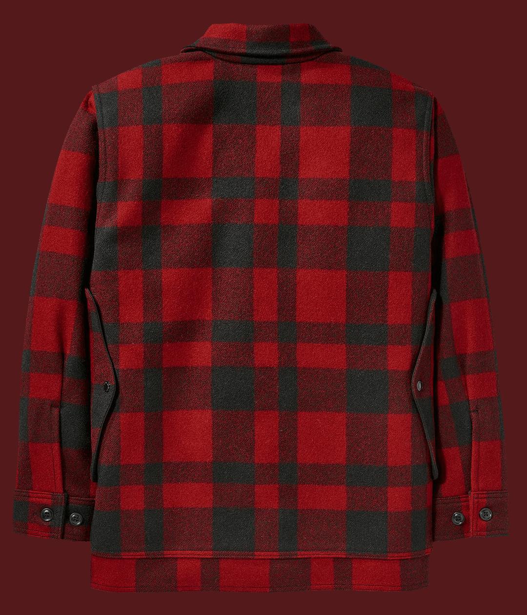 Filson Mackinaw Cruiser - Red/Black