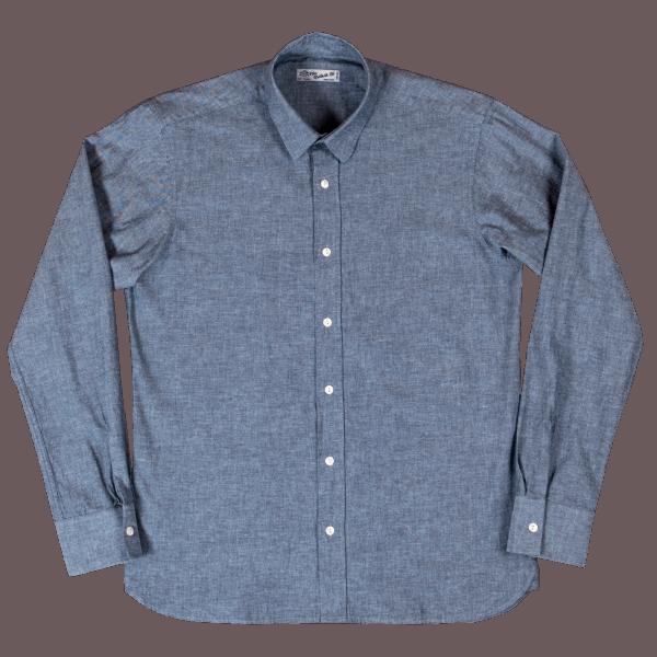 Pike Brothers 1947 Salesman Shirt - ocean blue