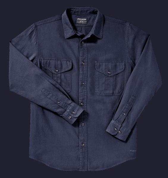 Filson LT Alaskan Guide Shirt - dark indigo