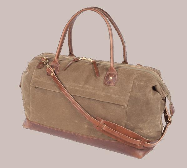 Wood & Faulk Northwester No.4 Travel Bag - tan