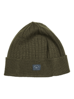 BLUE DE GENES Gino Beanie - Olive Night