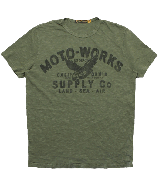 Johnson Motors - Moto-Supply - Olive Drab