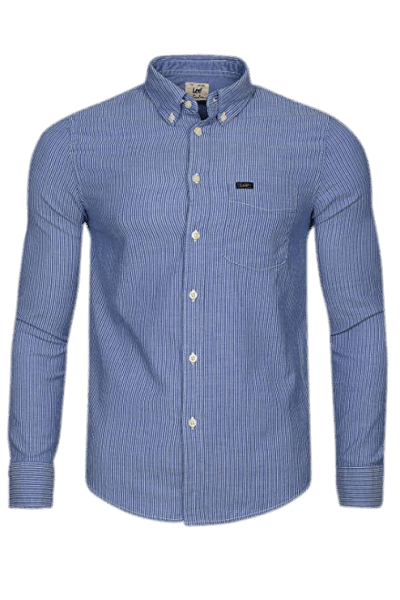 LEE Button Down Shirt, night blue