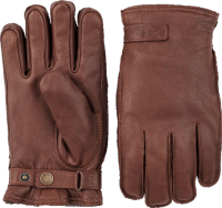 Hestra Deerskin Wool Terry - chestnut brown