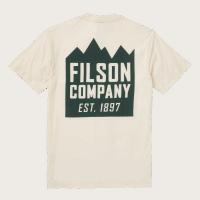 Filson Ranger Graphic T-Shirt - white