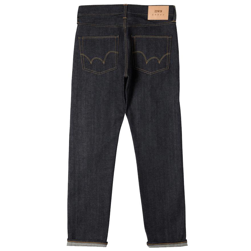 Edwin ED 55 Red Listed Selvage unwashed