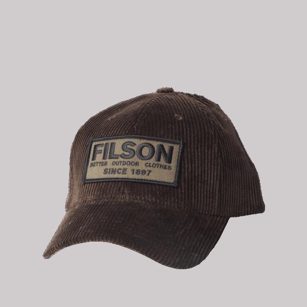 Filson Corduroy Logger Cap