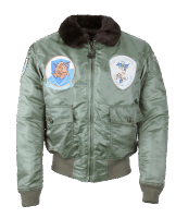 Cockpit Fliegerjacke G-1 Nylon mit Patches