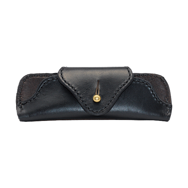 Scott Willis Brillenetuie Black Stud