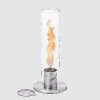 Spin 120 Tischfeuer silber