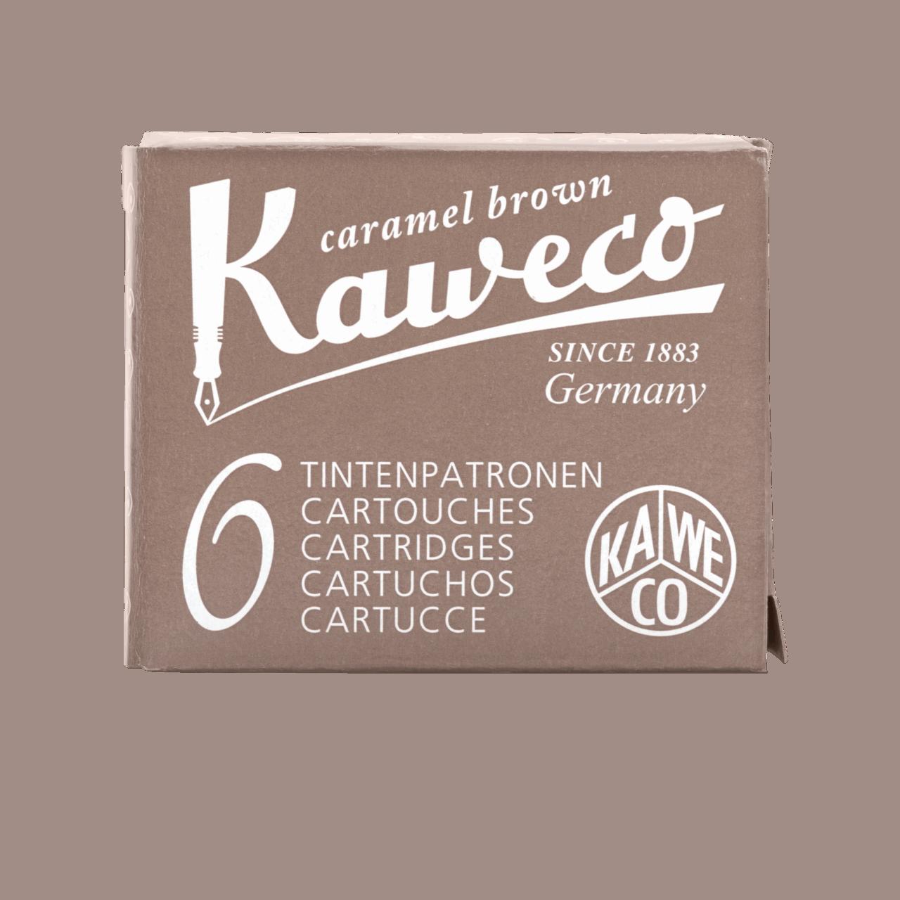 Kaweco Premium Ink Cartridges Caramel brown