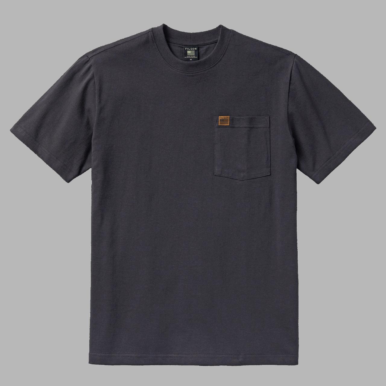 Filson Pioneer Solid One Pocket T-Shirt - black
