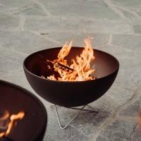 Bowl Feuerschale mit Drahtfuss