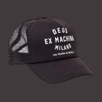 Deus Milano Trucker Cap Black