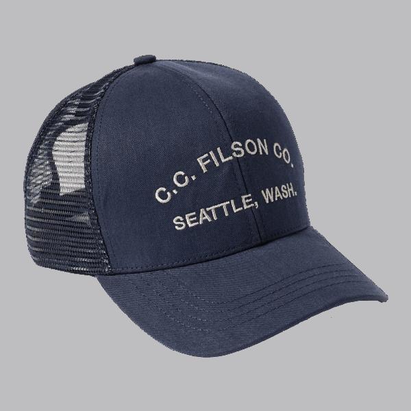 Filson Logger Mesh Cap - Navy