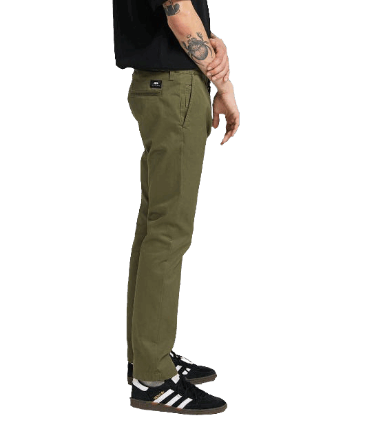 Edwin 55 Chino Compact twill - military green
