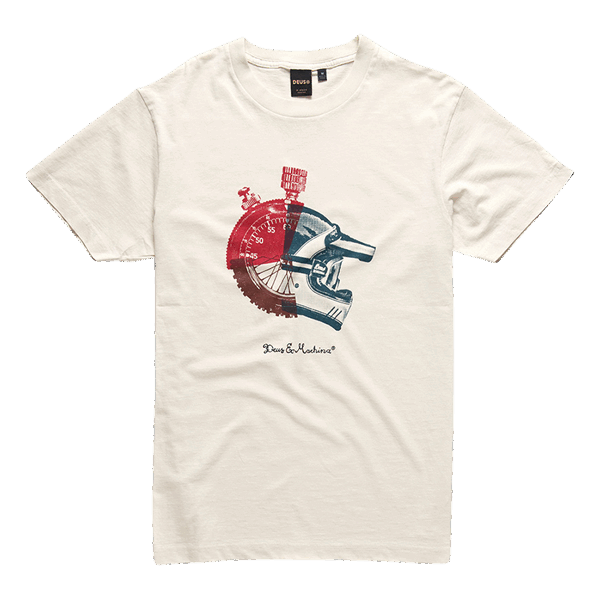 Deus Swank Tee - Dirty White