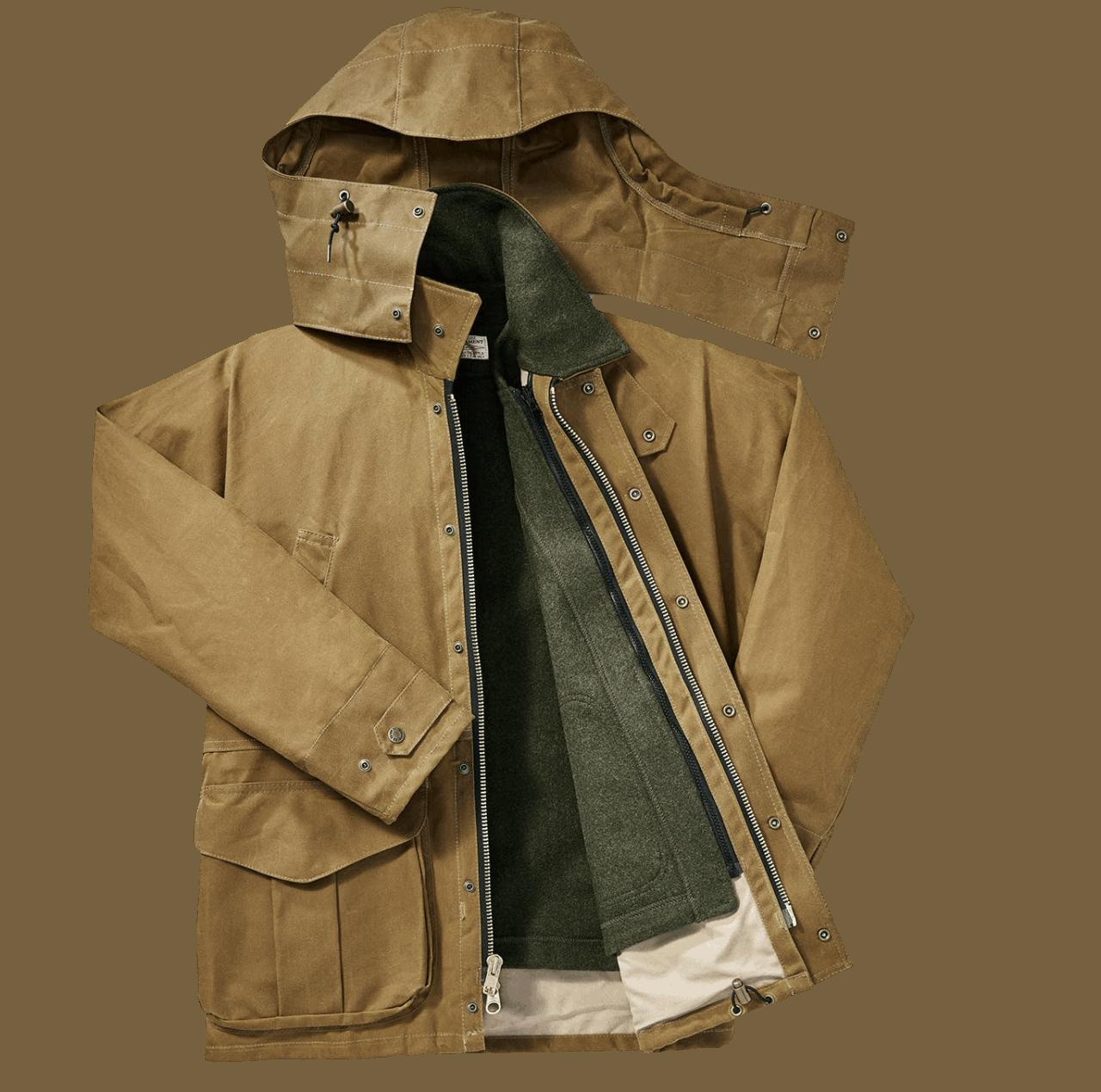 Filson Tin Cloth Field Jacket - Tan
