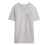 Merz b. Schwanen Basic Pocket T-Shirt - Grey Mel.