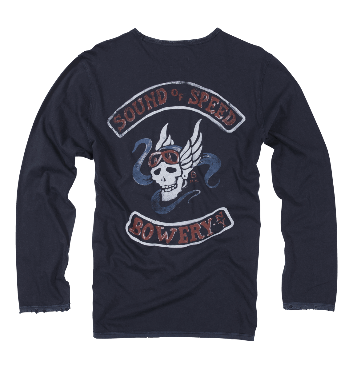 Bowery NYC - Long Sleeve - Space Blue