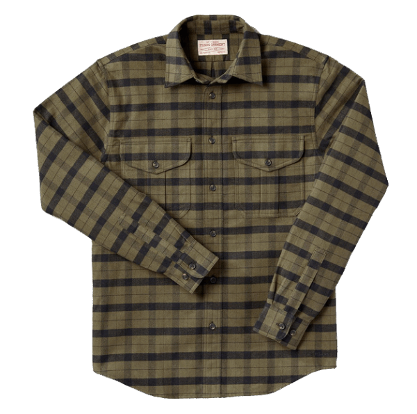 Filson Alaskan Guide Shirt ottergreen-black