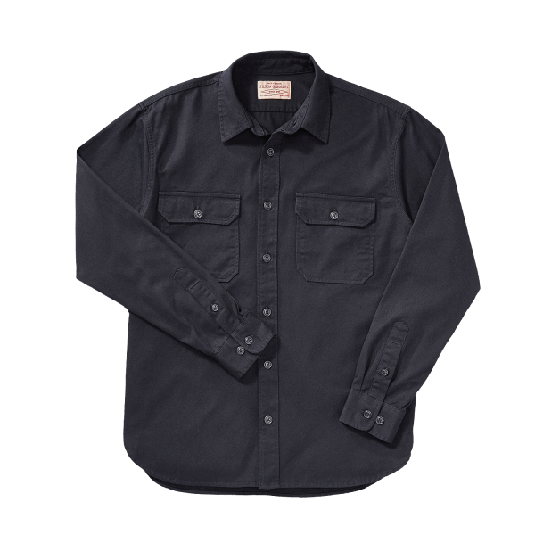 Filson Chino Twill Shirt - Black
