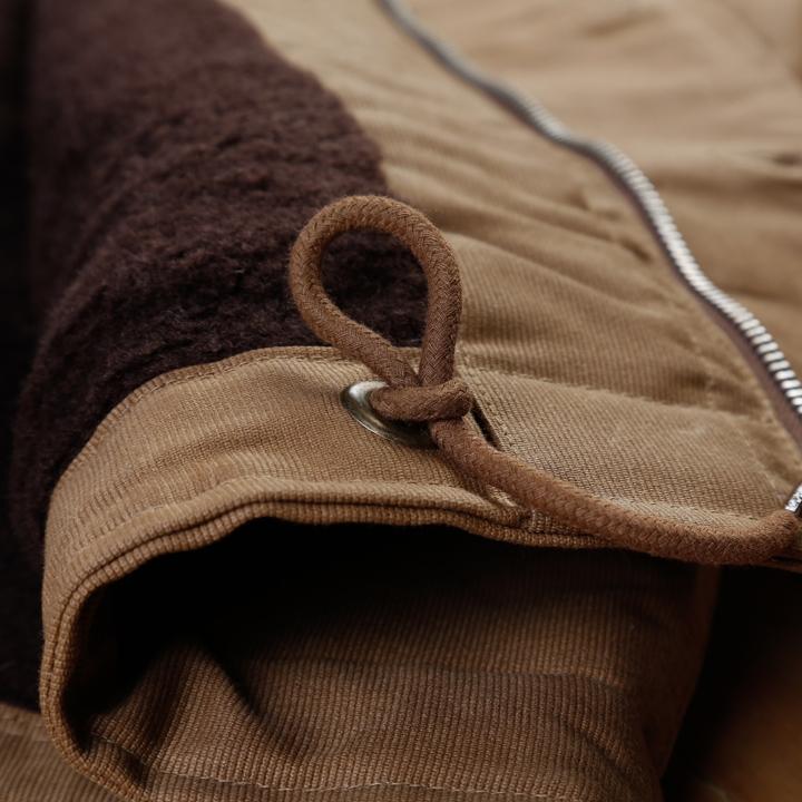 Pike Brothers 1944 N1-Deck Jacket Khaki Brown Waxed