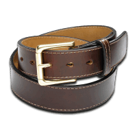 Coronado Leather Horsehide Belt HB6 BRN