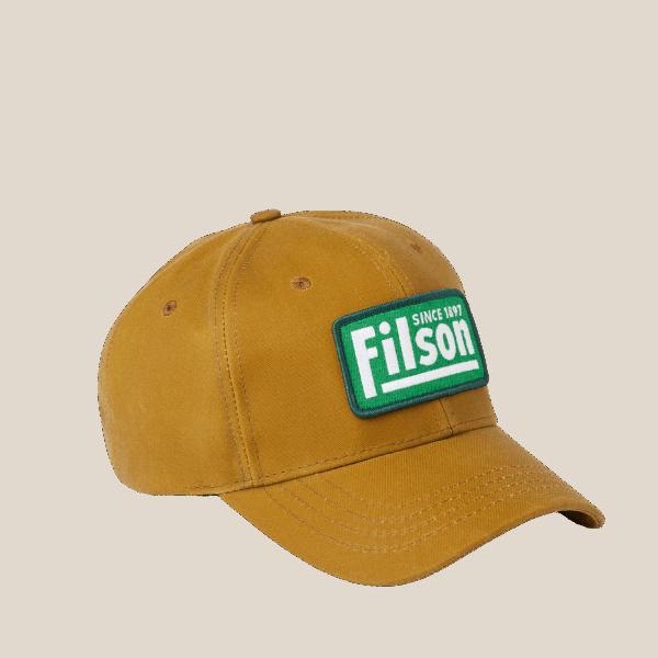 Filson Oil Tin Logger Cap