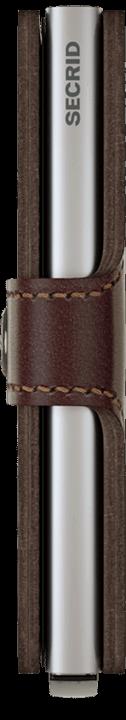 Secrid Miniwallet - dark brown