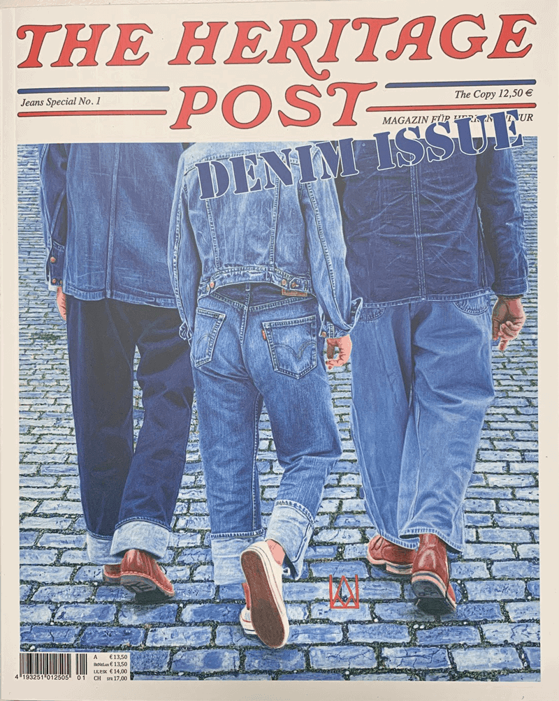 The Heritage Post Denim Issue Special No. 1 Sonderheft