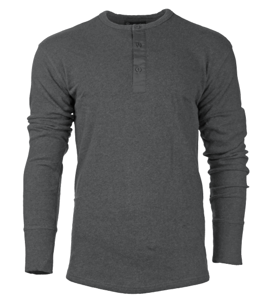 Pike Brothers 1954 Utility Shirt Long Sleeve Grey Melange