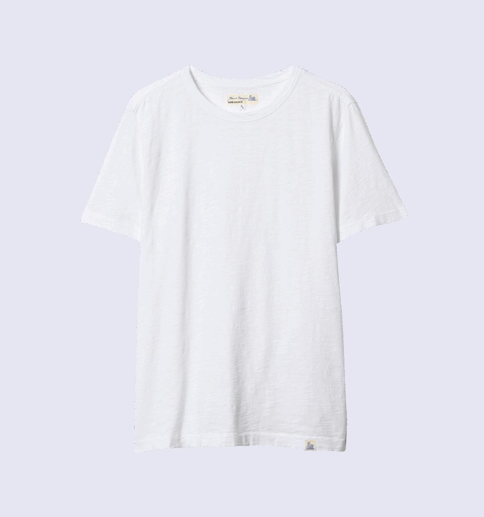 Merz b. Schwanen G.B. Genderless T-Shirt - white