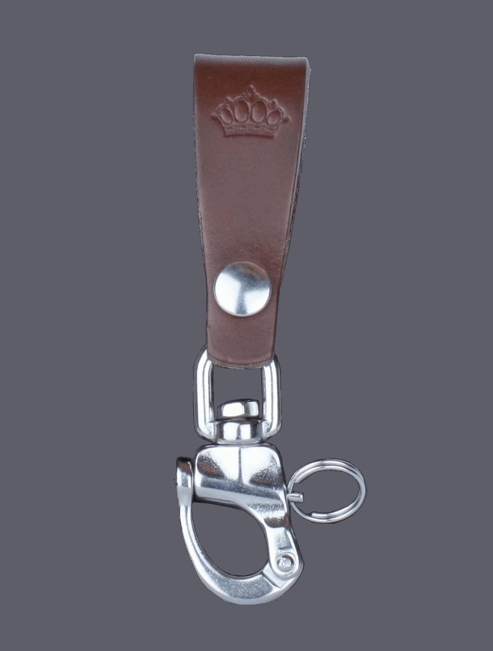 Pike Brothers Keyhanger dark brown