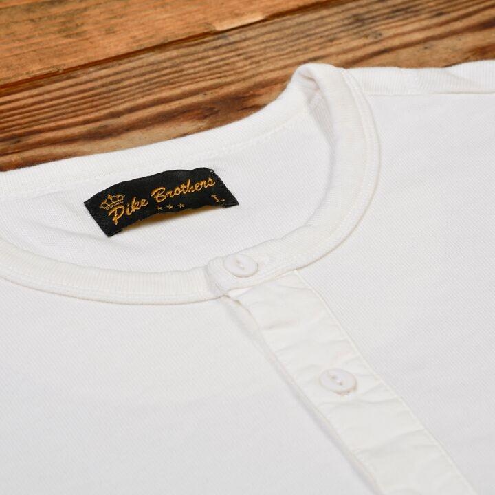 Pike Brothers 1954 Utility Shirt Long Sleeve Ecru