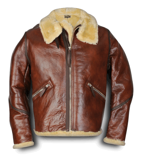 Aero Leather Type D-1 redskin