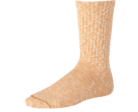 Red Wing Cotton Rag Sock - yellow/white