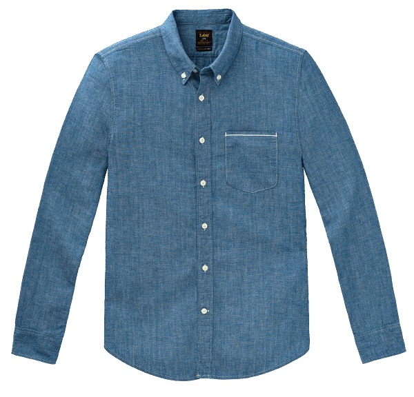LEE 101 Button Down Chambray