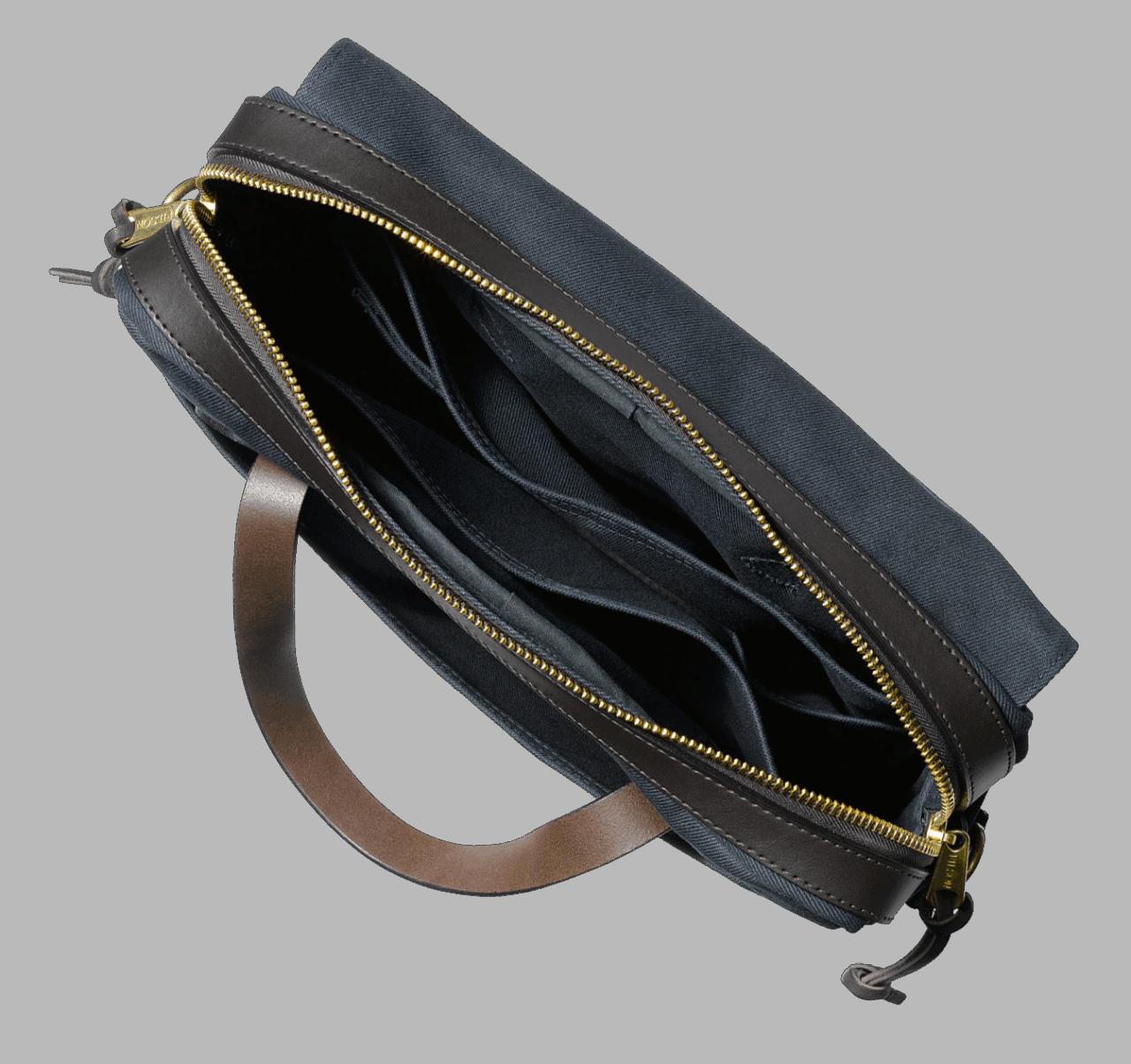 Filson Rugged Twill Original Briefcase - Navy